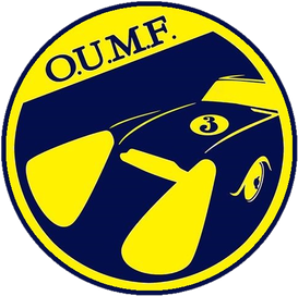 OUMF Oxford Universities Motorsport Foundation Logo